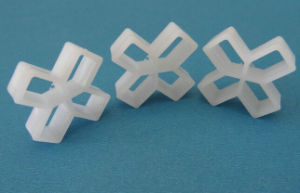 Hollow Plastic Tile Spacers Cross pictures & photos