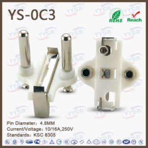 Yysr Brand High Quality Korean Power Plug Insert pictures & photos
