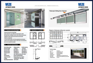 Lead Lined X-ray Shielding Automatic Hermetic Door pictures & photos