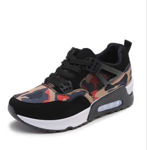 Casual Shoes Canvas Air Cushion Shoes Breathable Comfortable for Women (AKSP2) pictures & photos