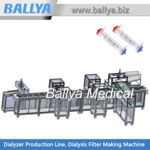 Advanced and Reliable Manufacturing Systems and Assembly Lines for Medical Disposables Dialyzers of Dialysis Machine