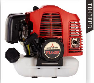 Mini Tiller Powered by Mitsubishi Gasoline Engine TU43PFD (GT-M43-02) pictures & photos