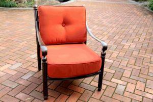Cast Aluminum Outdoor Club Deep Cushion Chair Furniture pictures & photos
