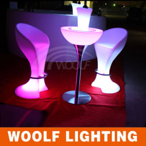 LED Luminous Nightclub KTV Disco Cocktail Chair pictures & photos