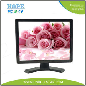 "High Quality 19"" LCD Computer Monitor with AV/TV Function pictures & photos"