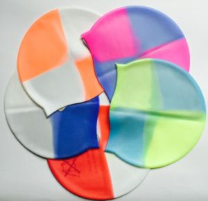 Multi Color Silicone Swimming Cap pictures & photos