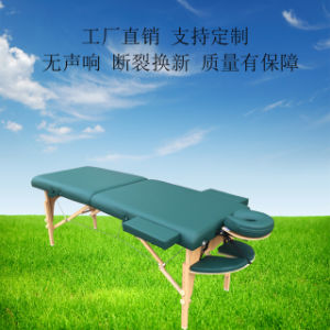 Hot Sale Portable Timber Massage Table Mt-006s-3 pictures & photos