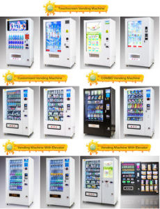 Instant Noodles Vending Machine with Boiled Water Dispenser pictures & photos