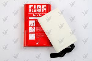 Fiberglass Fire Blabket Silicon Coated Fireproof pictures & photos