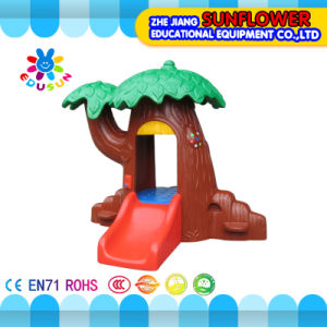 Magic Tree Play House Kids Plastic Playhouse Indoor Playground Equipment (XYH-0162) pictures & photos
