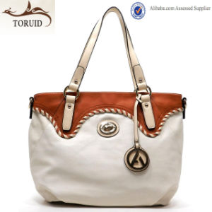 China Manufacture Wholesale Stylish Shoulder Tote Bag for Women
