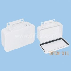 Empty First Aid Box with Hermetical Strip / Metal Box (DFEM-011) pictures & photos