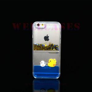Wholesale Star Quicksand Animal Liquid Oil Phone Case for iPhone5/6/6plus pictures & photos