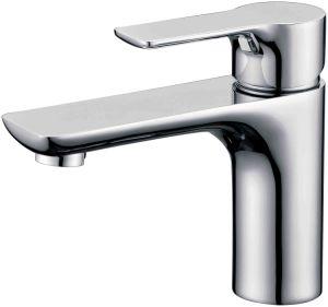 Fashion Brass Single Hole Single Handle Basin Faucet Tap in Chrome (22501)