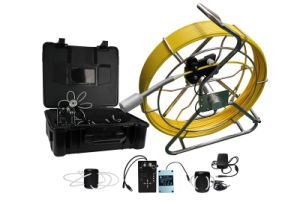 Pipe Inspection Camera with 512Hz Sonde Inside and 120m Cable Wheel with Meter Counter pictures & photos