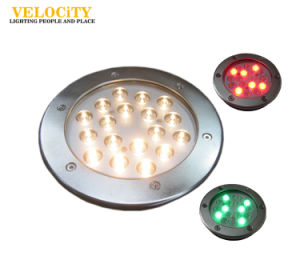 12W/24W High Brightness IP68 RGB LED Waterproof Swimming Pool Outdoor Fountain Light pictures & photos