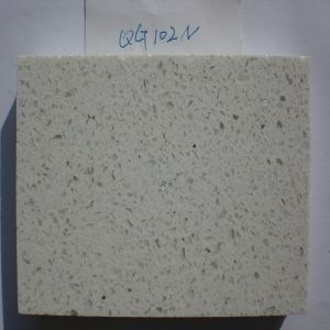 Polished Stone Material Artificial Quartz Stone (QG102) pictures & photos