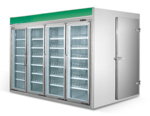 China Manufacture Beverage Display Showcase pictures & photos
