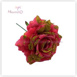 16cm X′mas Decorative Flowers Ornament for Christmas Tree Decoration pictures & photos