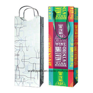 Paper Wine Gift Bag pictures & photos