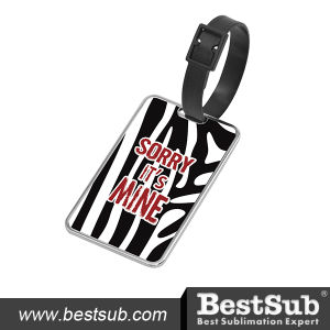 Bestsub Square Zinc Alloy Sublimation Luggage Tag (XLP5080) pictures & photos