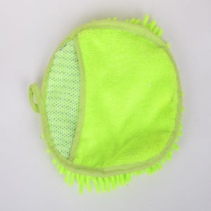 Green, Microfiber Clean Gloves, Durable, Protective Hand, Strong Decontamination, Not Hair Removal, Do Not Fade, Practical, Vivid Color