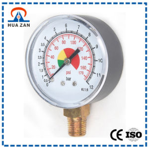 2.5 Inches General Pressure Gauges with Color Dial Gauge pictures & photos