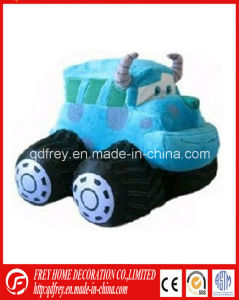 Plush Engineering Car with Soft Bull Shape