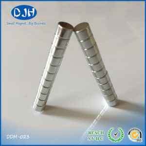 Permanent Sintered Cylinder Shape NdFeB Moto Magnet pictures & photos