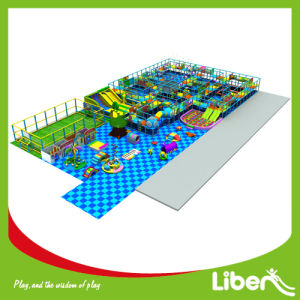 China Soft Play Large Kids Indoor Playground Amusement Park for Sale pictures & photos