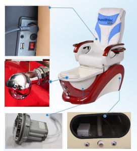 Great Offer Magnetic Jet Pump Whirlpool Pedicure Chair Glass Bowl pictures & photos