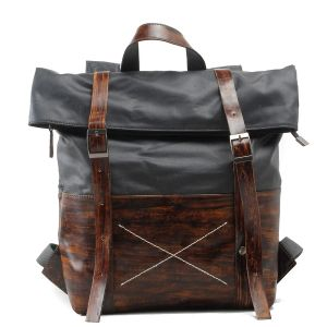Cow Leather Handbag and Canvas Man Fashion Backpack (RS-1008-H) pictures & photos