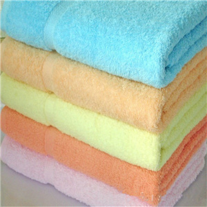 Bochang 100% Cotton Bath Towel in Plain Full Color (70X140)