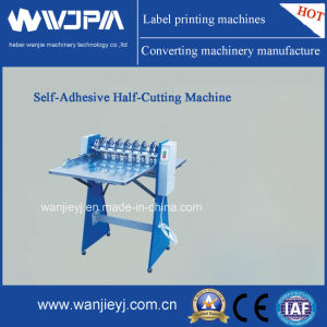 Automatic High Speed Self-Adhesive Half-Cutting Machine pictures & photos