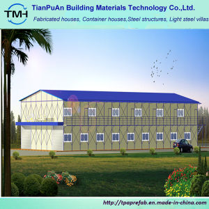Prefabricated Two-Story Light Steel Frame Workshop pictures & photos