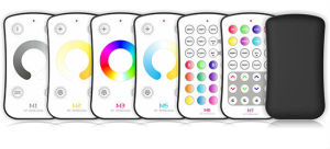 2.4G RF Remote LED Controller Color Circle M7 Work with M4-5A for Dimming pictures & photos