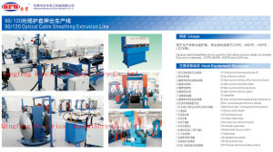 Optical Cable Sheating Extrusion Line pictures & photos