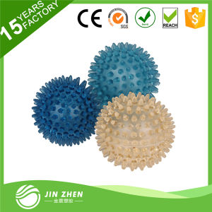 Spiky Massage Ball Can Not Inflate Hard Fitness Ball with Spine pictures & photos