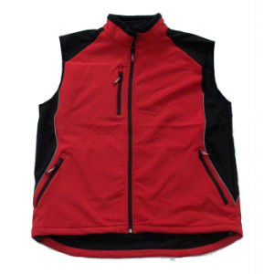 New Sleeveless Jacket Vest Mens Sports Softshell Vest (UF226W) pictures & photos