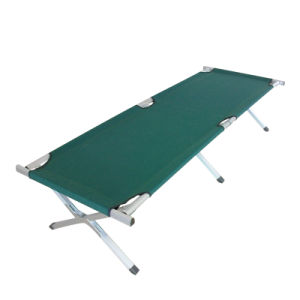 Aluminum Folding Cot (M) with Side Pocket pictures & photos