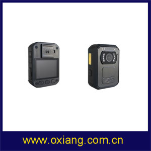 Built in GPS IR Night Vision 140 Degree Wide Angle IP65 1080P Body Worn Camera for Police pictures & photos