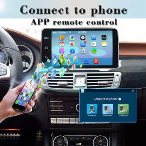 Anti-Glare Carplay for Benz C/Glc/V Android 7.1 Phone Connections Car Stereo WiFi Connection OBD DAB+ pictures & photos