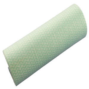 High Quality Spunlace Nonwoven Fabric Cleaning Wipes Roll pictures & photos