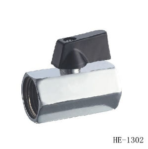 (HE1300-HE1304) Mini Ball Valve with Good Quality for Water, Oil