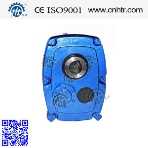 Chinese Famous Brand Hxgf Series Shaft Mounted Gear Reducer with NSK Bearings pictures & photos