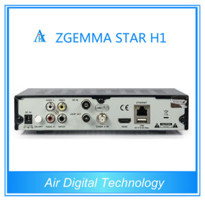 Original DVB-C Model Zgemma-Star H1 Combo DVB-S2+C HD Satellite Receiver pictures & photos