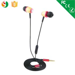 New Style in-Ear Stereo Wooden Earphone& Earbud pictures & photos