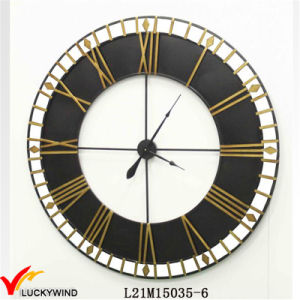 Antique Large Vintage Old Style Industrial Metal Art Wall Clock for Home and Outdoor Decor pictures & photos