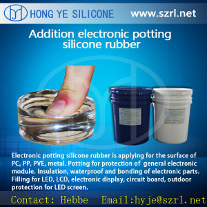 Electronic Potting Silicon for Circuit Board Module pictures & photos