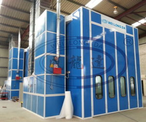 Wld15000 Ce Customized 15m Bus Spray Painting Booth pictures & photos